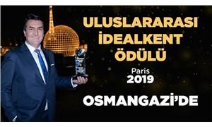 AKP'li başkan, çakma UNESCO ödülünü de, çakma ödülün tanıtımına harcanan parayı da kabul etti