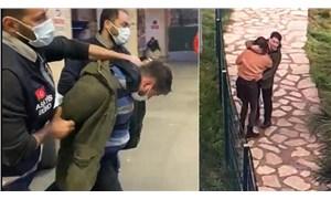 Cihangir'deki bıçaklı tacizci yakalandı