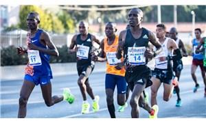 Maratonİzmir'de birinciler Etiyopya ve Kenya'dan