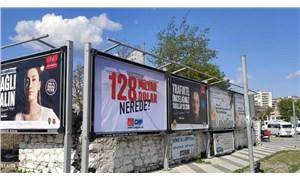 '128 milyar dolar nerede' afişleri Aydın'da da toplatıldı