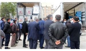 İmamoğlu'ndan Adıyaman'daki belediyelere yardım TIR'ı