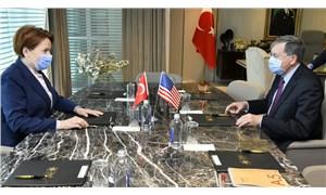 Akşener, ABD Büyükelçisi ile görüştü