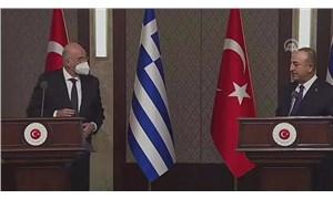 Yunan Dışişleri Bakanı'ndan Çavuşoğlu'na: Çalışma arkadaşların kraldan çok kralcı