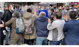 Sağlık çalışanlarının 'ölümleri durdurun' çağrısına polisten sert müdahale!