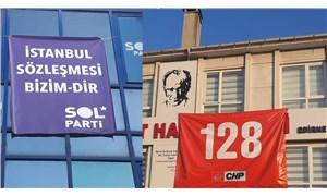 Edirne Valiliği'nin koronavirüsle mücadelesi: 'İstanbul Sözleşmesi' ve '128 Milyar Dolar' pankartları yasaklandı