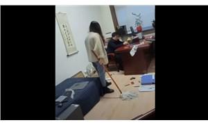 Patronunu paspasla döven kadının videosu, YouTube'da sansasyon yarattı