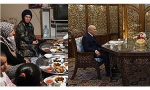 Emine Erdoğan sini aldırdı, Devlet Bahçeli otağ kurdurdu