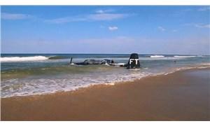 ABD'de 2. Dünya Savaşı'ndan kalma gösteri uçağı, denize acil iniş yaptı