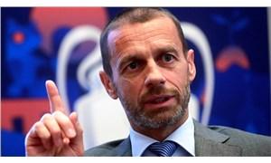 UEFA Başkanı'ndan 'Avrupa Süper Ligi'ne ilişkin sert sözler: Umursadıkları tek şey kendi cüzdanları