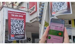 Antalya'da karekodlu pankart: 128 milyar dolar nerede?