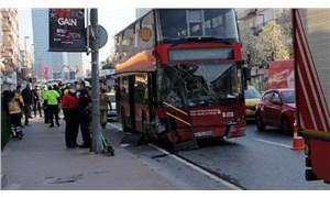 Beşiktaş'ta İETT otobüsü kaza yaptı: Bir kişi yaşamını yitirdi