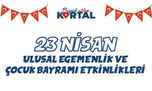 Kartal Belediyesi'nden çocuklara özel 23 Nisan kutlama etkinlikleri