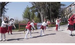 Beşiktaş'ta 23 Nisan kutlamaları
