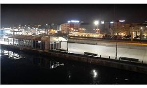 Galata Köprüsü'nden denize itilen kişi yaşamını yitirdi