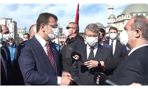 İmamoğlu'ndan Taksim'deki 23 Nisan törenine tepki: Zavallılık