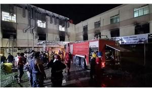 Bağdat'ta pandemi hastanesinde yangın çıktı, 82 kişi yaşamını yitirdi: Sağlık Bakanı açığa alındı