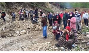İkizdere'de doğa talanına karşı direnen köylülere jandarma müdahalesi!