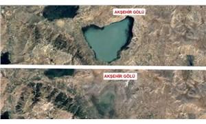 Gölleri vuran kuraklık 36 yıllık uydu fotoğraflarıyla belgelendi: Kuruma noktasındalar!