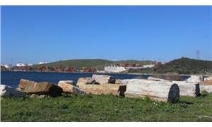 Sit derecesi düşürülen 3 bin yıllık Kyme Antik Kenti yok edilmek isteniyor!
