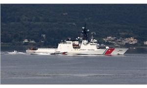 Karadeniz'e giden ABD sahil güvenlik gemisi İstanbul Boğazı'nda