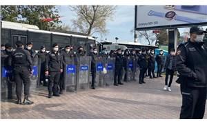"""SOL Parti'nin """"tam kapanma"""" açıklamasına polis engeli: Ya açlık ya ölüm sopasını kabul etmiyoruz!"""