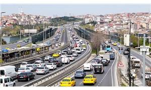 """İstanbul'da """"tam kapanma"""" öncesi trafikte yoğunluk arttı"""