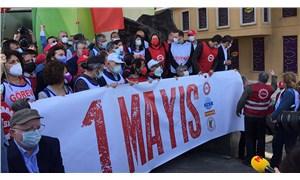 İstanbul'da 1 Mayıs: Kazancı Yokuşu'na karanfiller bırakıldı
