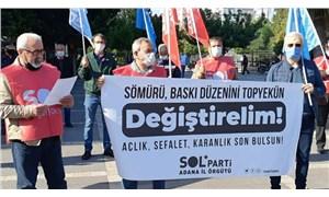 SOL Parti Adana İl Örgütü'nden 1 Mayıs yasağına tepki