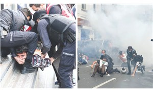Emekçiye barikat kuruldu, sokaklar gaza boğuldu