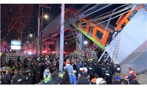 Meksika'da metro üst geçidi çöktü: 23 ölü, 70 yaralı