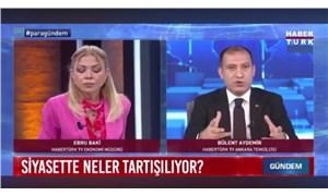 Habertürk'ten MHP'li Yönter'e yanıt: Gazetecilere ayar vermek alışkanlık oldu