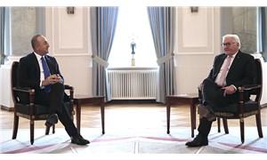 Dışişleri Bakanı Çavuşoğlu, Almanya Cumhurbaşkanı Steinmeier ile görüştü