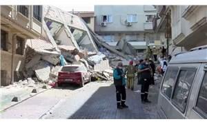 Zeytinburnu'nda bir bina çöktü