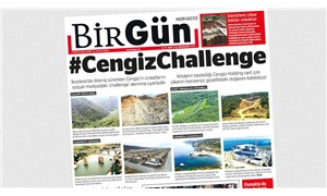 BirGün'ün manşeti sosyal medya gündeminde: #CengizChallenge
