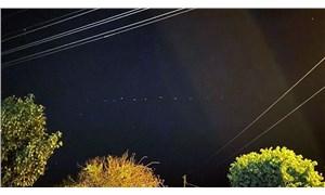 Gökyüzündeki ışıklar merak konusu oldu: Bakan Varank açıklama yaptı