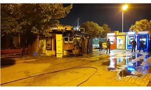 İtfaiye raporu: Halk Ekmek büfesi yangını sabotaj kaynaklı