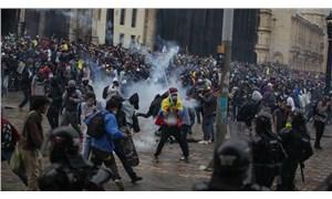 Kolombiya'da 9 gündür süren eylemlerde ölü sayısı 37'ye, yaralı sayısı 234'e çıktı