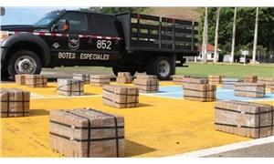 Panama'da bir gemide 616 paket kokain ele geçirildi: Varış noktası Mersin