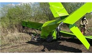 Rusya'da bakım işçisinin kaçırdığı uçak düştü: 2 ölü