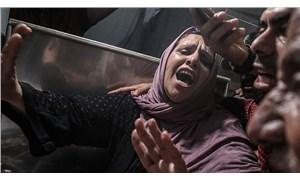 İsrail savaş uçakları Gazze Şeridi'ni bombaladı: 9'u çocuk 20 can kaybı!