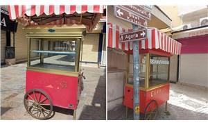 İzmir Büyükşehir'den seyyar satıcı ve kahvehane esnafına destek