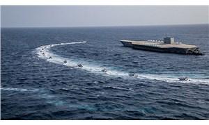 ABD savaş gemilerinden İran botlarına uyarı ateşi açıldı