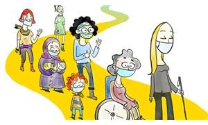 Pandemide engelli kadın olmak: İki farklı hak ihlali yaşıyoruz