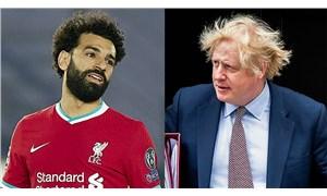 Salah, Johnson'ı etiketleyerek Filistin için çağrıda bulundu