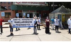 SES Antalya Şubesi, Dünya Hemşireler Günü'nden yineledi: 3600 ek gösterge hakkımız verilsin