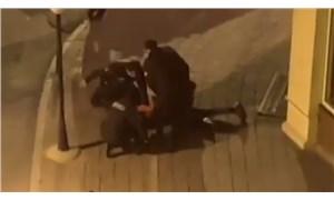 Görüntüler sosyal medyada paylaşıldı: İstanbul'da bekçi şiddeti!