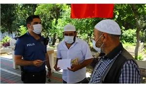 Mezarlıkta 'sahte hoca' denetimi: Polis tek tek dua okuttu