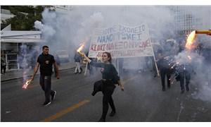 Yunanistan'da işçilerin temel haklarına saldırı