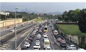 'Tam kapanma' sonrası İstanbul'da trafik yoğunluğu