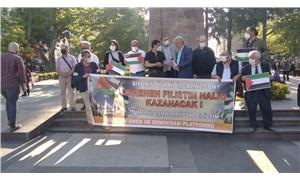 Trabzon Emek ve Demokrasi Platformu'ndan İsrail protestosu